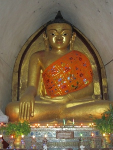 Inside the temples we kept seeing this guy.