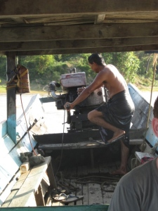 Our boat driver