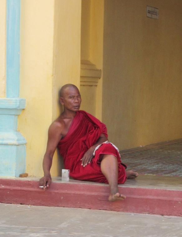 Smoking monk