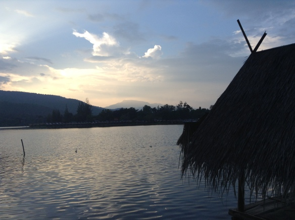 The lake at Huay Tung Tao