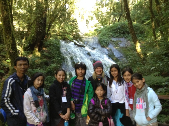 Waterfalls at Doi Inthanon