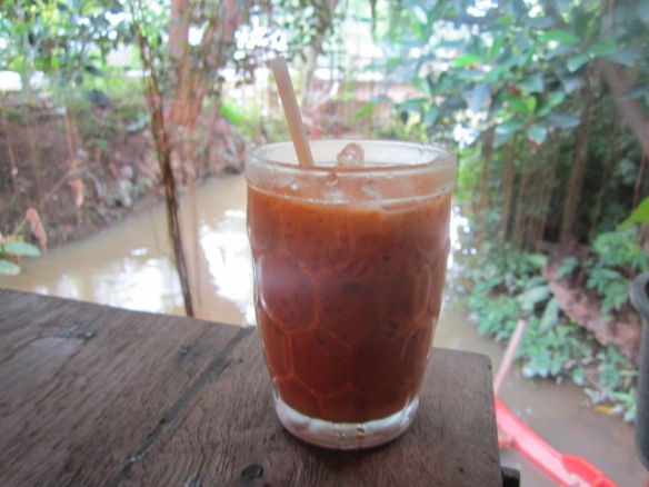 The best Thai iced tea I ever had