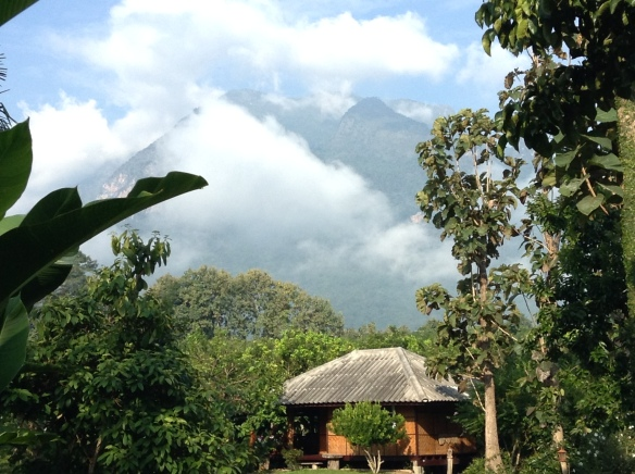 Beautiful Chiang Dao at Yang Tone Farmstay.