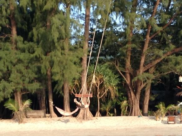 ...like a gigantic swing.