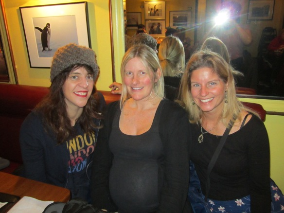 Starting out on January first with old friends, Cara and Katie, in Chicago.