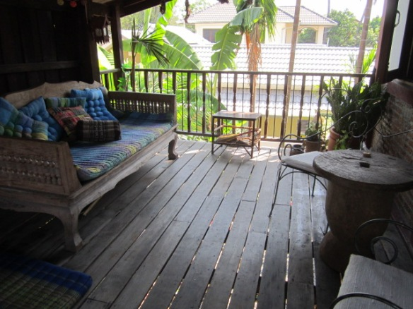 and upstairs outside patio.