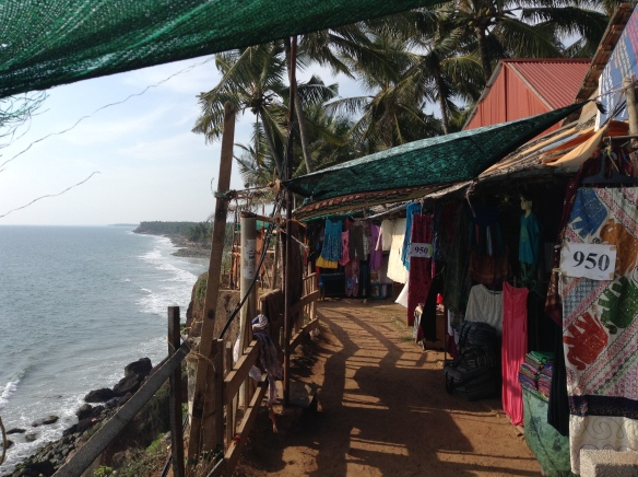 "Although it was pretty on the cliffs, there were tons of shops selling almost the same things in each one. It was a good place to shop, but walking along the cliff I was constantly solicited with, ""Hello madam. Where you from? Just have a look, looking is free."""