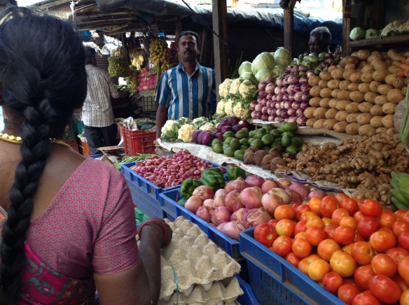 Munnar local market