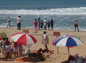 Beach puja