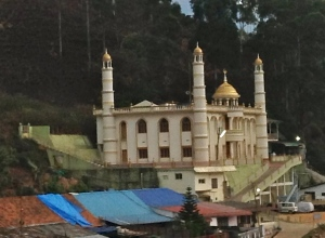 In this little city there was a mosque, a Hindu temple...
