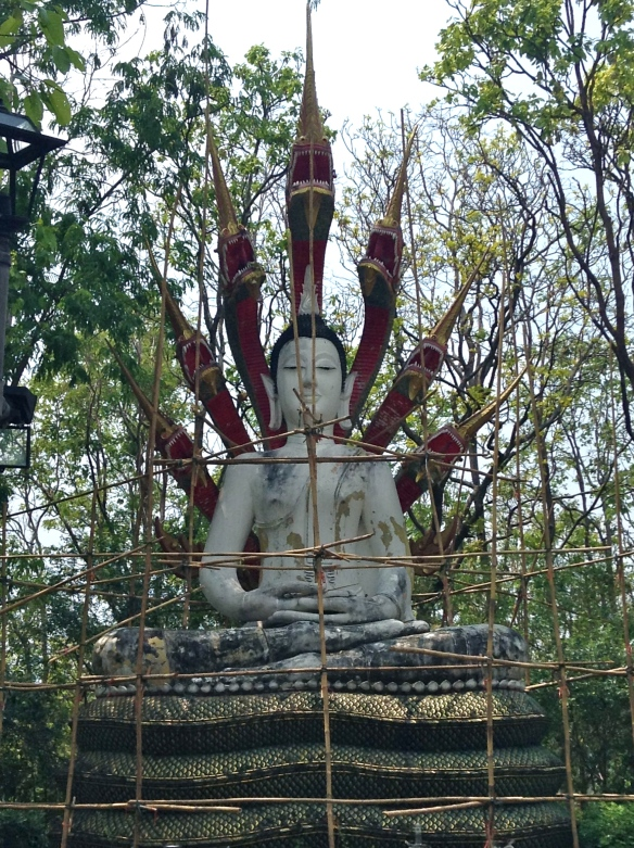 Scaffolding Buddha