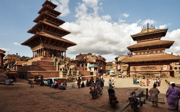 This is more or less how I remember Bhaktapur. Image from google images.