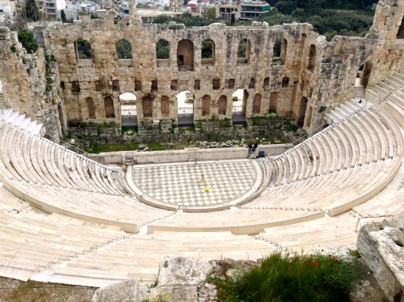 The Theatre of Dionysus at the Acropolis