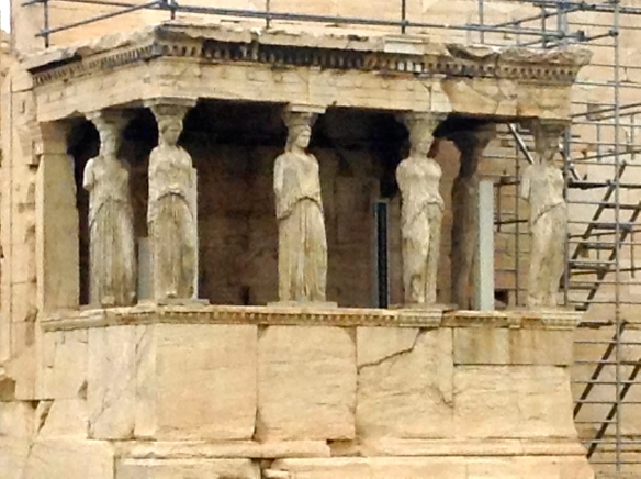 Detail at the Acropolis