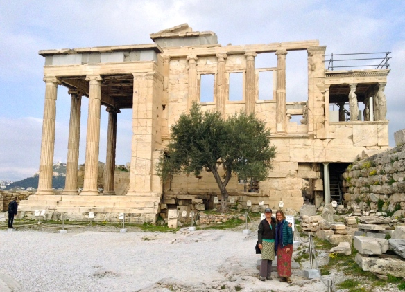 The Parthenon, in the Acropolis