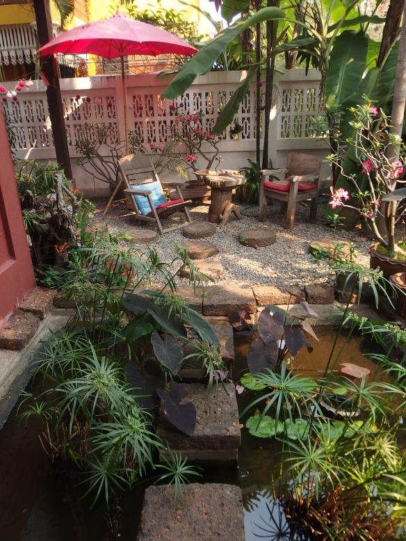 ...the fish pond