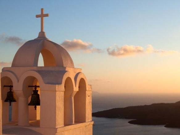 Classic Santorini postcard shot