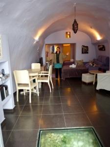 Megan's cave room...