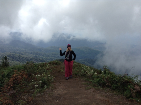 In the clouds in Doi Inthanon